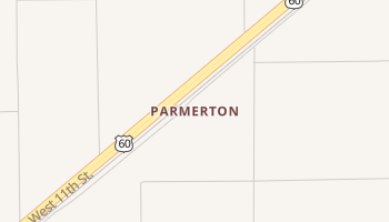 Parmerton, Texas map