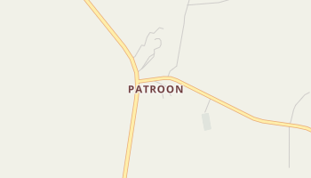 Patroon, Texas map
