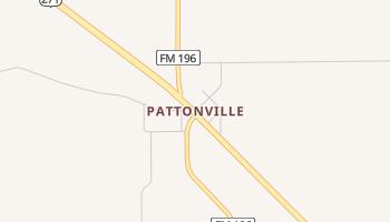 Pattonville, Texas map