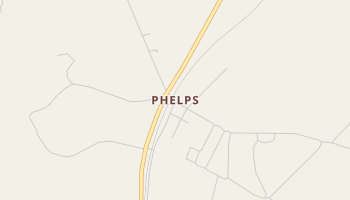 Phelps, Texas map