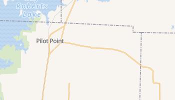Pilot Point, Texas map