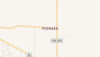 Pioneer, Texas map