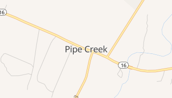 Pipe Creek, Texas map