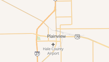 Plainview, Texas map