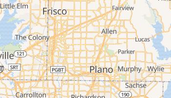 Plano, Texas map