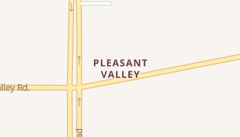 Pleasant Valley, Texas map
