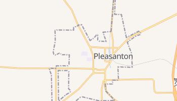 Pleasanton, Texas map