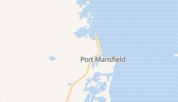 Port Mansfield, Texas map