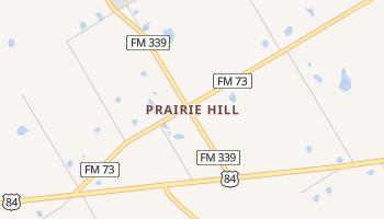 Prairie Hill, Texas map