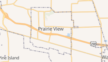 Prairie View, Texas map