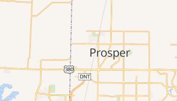 Prosper, Texas map