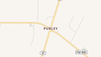 Purley, Texas map