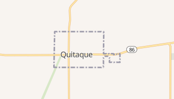 Quitaque, Texas map