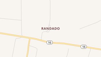 Randado, Texas map