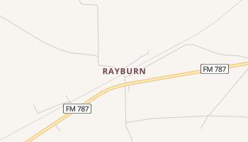 Rayburn, Texas map