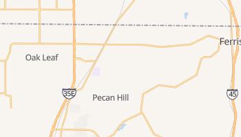 Red Oak, Texas map