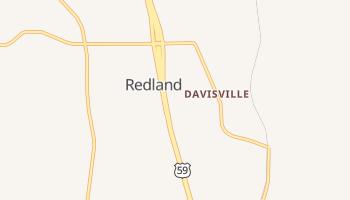 Redland, Texas map