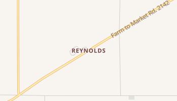 Reynolds, Texas map