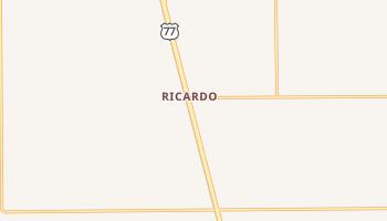 Ricardo, Texas map