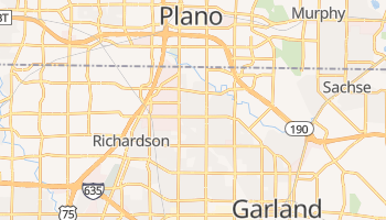 Richardson, Texas map