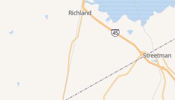 Richland, Texas map