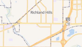 Richland Hills, Texas map