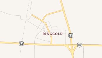 Ringgold, Texas map