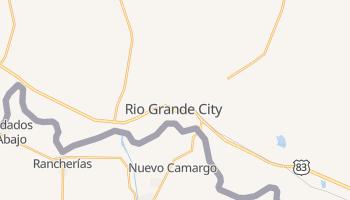 Rio Grande City, Texas map