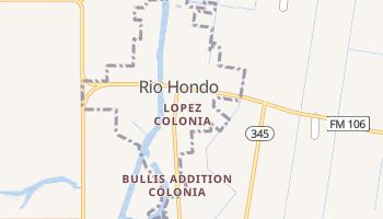 Rio Hondo, Texas map