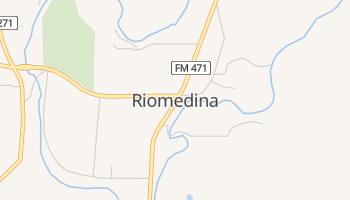 Riomedina, Texas map