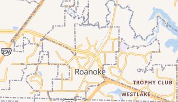 Roanoke, Texas map