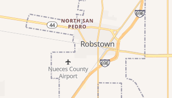 Robstown, Texas map