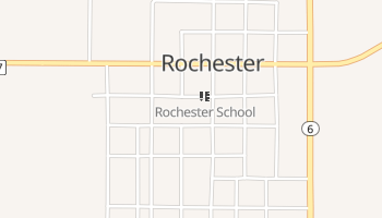 Rochester, Texas map
