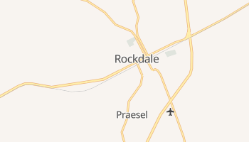 Rockdale, Texas map