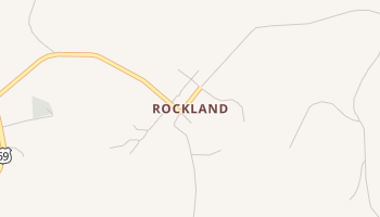 Rockland, Texas map
