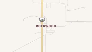 Rockwood, Texas map