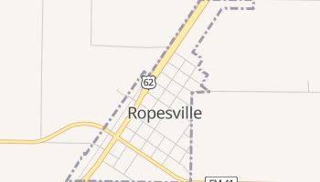 Ropesville, Texas map