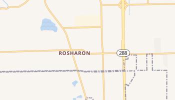 Rosharon, Texas map