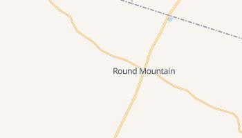 Round Mountain, Texas map