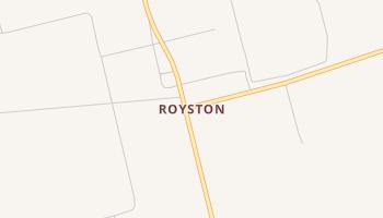 Royston, Texas map