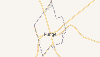 Runge, Texas map