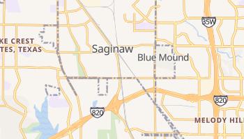Saginaw, Texas map