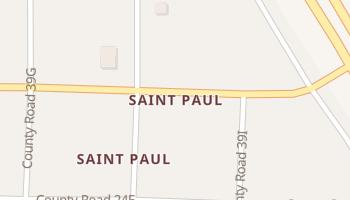 Saint Paul, Texas map