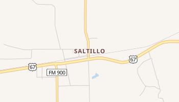 Saltillo, Texas map