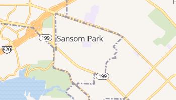 Sansom Park, Texas map