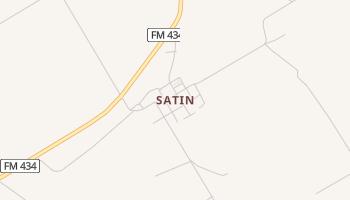 Satin, Texas map