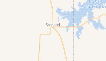 Scotland, Texas map