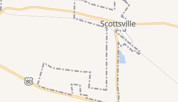 Scottsville, Texas map