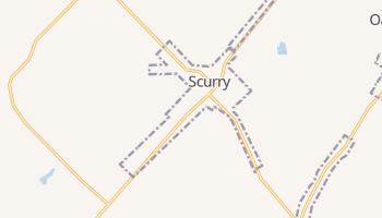 Scurry, Texas map
