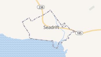 Seadrift, Texas map